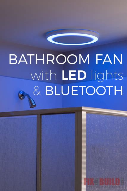 install  bathroom fan  bluetooth speakers