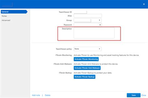 Teamviewer Console by Team Viewer Management Console Custom Fields