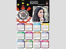 Montagem de fotos Calendário Moldura Calendario 2018