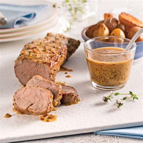 cuisine miel porc miel et dijon recettes cuisine et nutrition