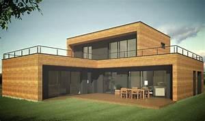 Booa Constructeur Maisons Ossature Bois Design  U00e0 Prix