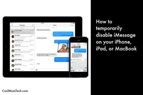 how to turn on imessage on iphone tech productivity tip how to disable imessage temporarily