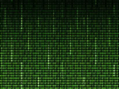 Matrix Animated Code Background Animation Binary Numbers