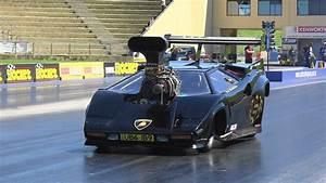 Lamborghini Blown V8 Drag Car Alf Sciacca Racing 7 27
