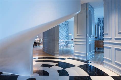 modern  sophisticated penthouse  shanghai