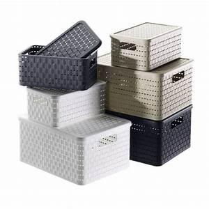 Aufbewahrungsboxen Kunststoff Mit Deckel : aufbewahrungsboxen mit kisten boxen ordnung schaffen ~ Markanthonyermac.com Haus und Dekorationen
