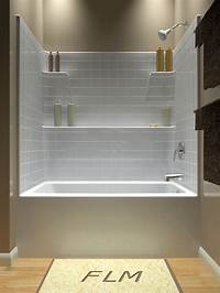 tub shower combo Tub and Shower - One Piece