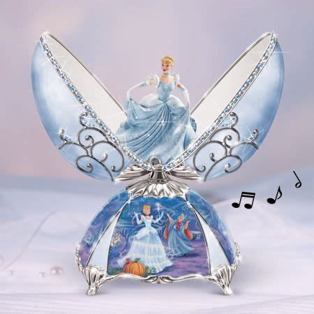 Bradford Exchange - Elegant Cinderella Egg Music Box