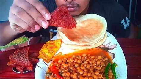 Although it can be eaten any time of the day, chole bhature is especially popular in the. ASMR : CHOLE BHATURE *RECIEPE* + EATING CHOLE BHATURE ...