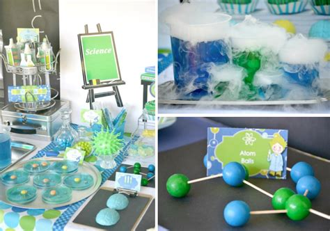 Kara's Party Ideas Mad Scientist Science Boy Girl Birthday