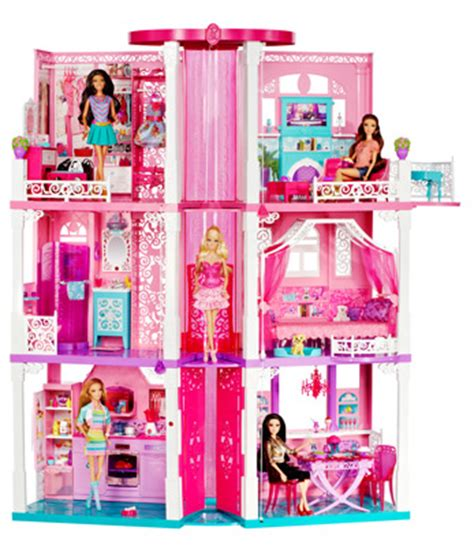 amazoncom barbie dream house toys games