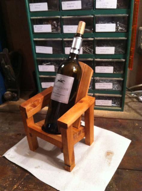 mini adirondack chair wine bottle holder wood wine racks