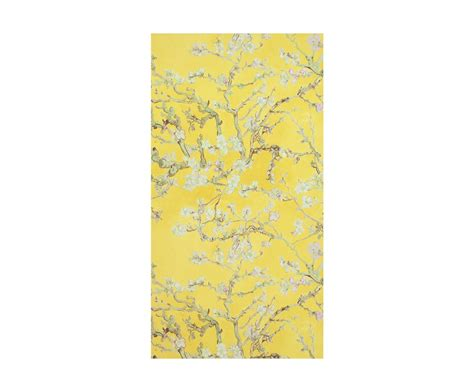Rouleau De Tapisserie by Rouleau De Papier Peint Gogh Ii Jaune 10 53