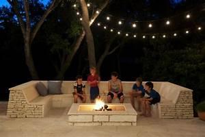 Feuerstelle Mit Sitzgelegenheit : lounge terrasse wie im boutique hotel entspannung pur zu hause ~ Whattoseeinmadrid.com Haus und Dekorationen