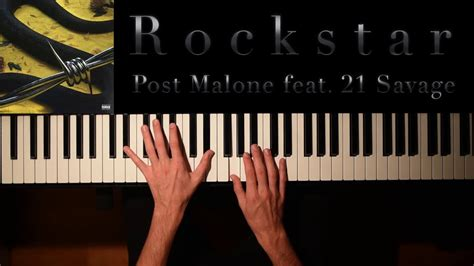 Post Malone Feat. 21 Savage (piano Cover