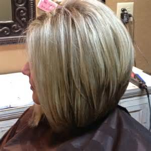 Long Stacked Bob Hairstyles