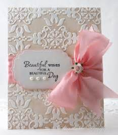 Embossed Handmade Mother's Day Card