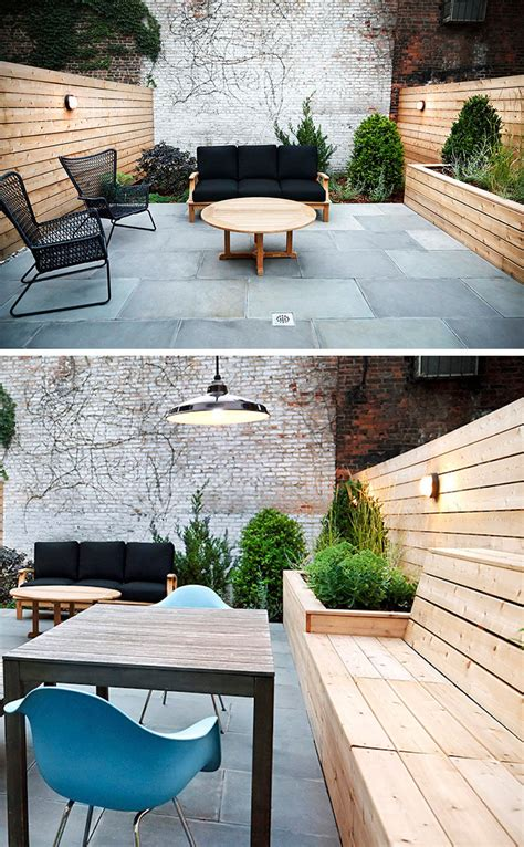 ideas  including built  wood planters
