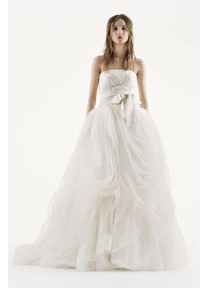 White By Vera Wang Tossed Tulle Wedding Dress  David's Bridal. Red Wedding Gowns Demetrios. Plus Size Wedding Dresses York Uk. Pink Wedding Dress With Straps. Vera Wang Wedding Dresses Browns. Indian Wedding Dresses Ludhiana. Simple Wedding Dresses Amazon. Long Sleeved Wedding Dresses Vintage. Wedding Guest Dresses For Summer 2015