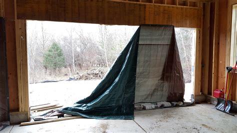 repair    properly secure  tarps home