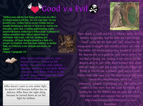 Good Vs Evil Quotes In The Hobbit