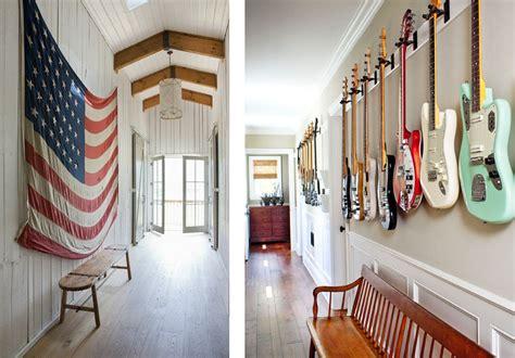 comment accrocher une guitare au mur la fabrique 224 d 233 co id 233 es pour am 233 nager et d 233 corer un couloir