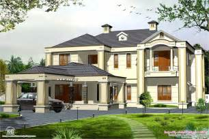 colonial home plans with photos colonial style 5 bedroom style house kerala