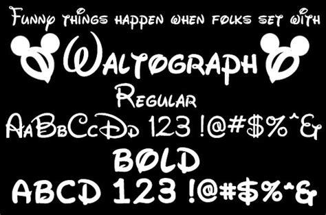 "Font Gratuito ""stile Walt Disney"""