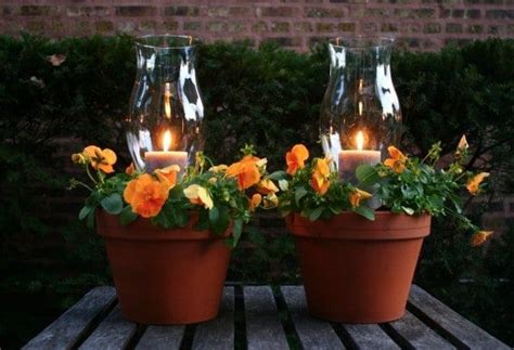 You'll Love To Make These Clay Pot Flower Votives
