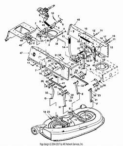 Mtd 13af660g352  2002  Parts Diagram For Deck Lift
