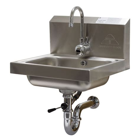 advance tabco 7 ps 51 wall mount commercial hand sink w