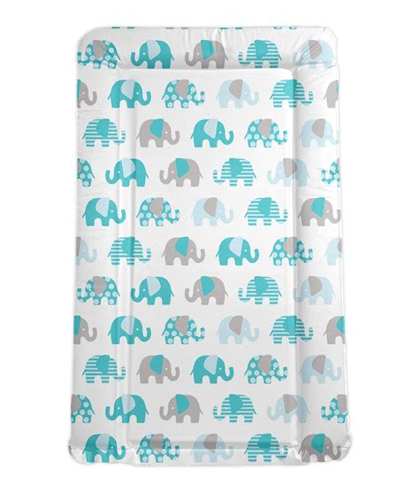 baby change mats billie faiers turquoise elephants baby changing mat