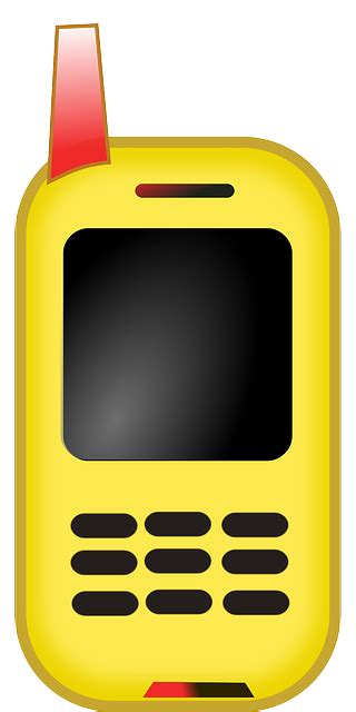 call cell phone mobile  vector graphic  pixabay