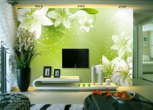 Wandgestaltung Wohnzimmer Streifen : 100 ideen f r wandgestaltung in gr n ~ Orissabook.com Haus und Dekorationen