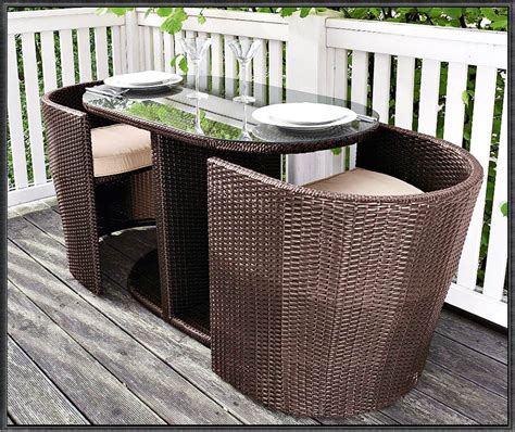 Gartenmöbel Für Kleinen Balkon by Gartenm 246 Bel F 252 R Kleinen Balkon Rattan Deutsche Dekor