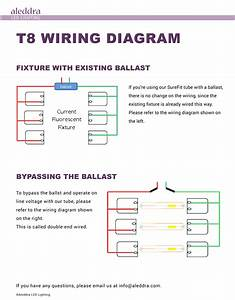 Universal T8 Ballast Wiring Diagram