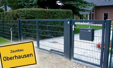 Garten Landschaftsbau Stadt Essen by Zaunbau In Oberhausen Mit Zk Garten Und Landschaftsbau