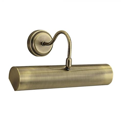 brass wall picture light searchlight 869ab picture lights 1 light antique brass