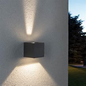 Bega Leuchten Ersatzteile : led au enwandleuchte line cubo in grau wohnlicht ~ Yasmunasinghe.com Haus und Dekorationen