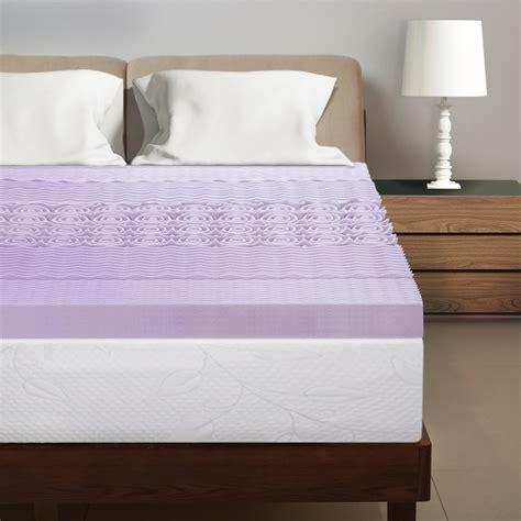 mattress topper lavender inch zone infused walmart