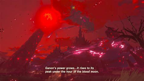 Zelda Blood Moon Zelda Botw Under The Blood Moon Aywren Sojourner