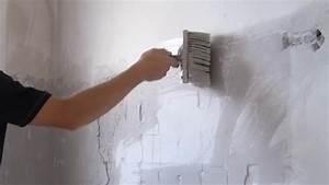 Wand Glatt Spachteln : wand verputzen wand spachteln anleitung ~ Markanthonyermac.com Haus und Dekorationen