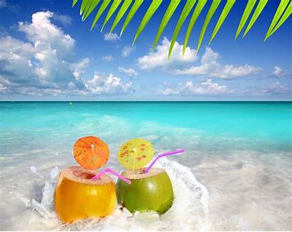 Summer Beach Fun Wallpapers Drinks Backgrounds Cool