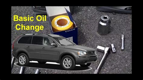 basic oil change   volvo xc votd