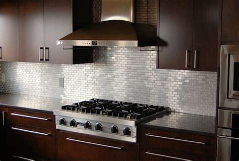 Stainless Steel Kitchen Backsplash Ideas : The Classic Beauty Of Subway Tile Backsplash In The Kitchen