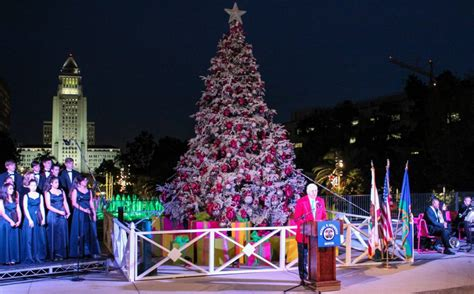tree lighting song 20 activities to do in l a that ll help bring out your true spirit
