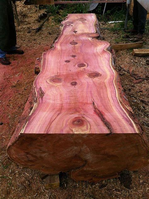freshly cut aromatic cedar  kona ook zonder bewerking