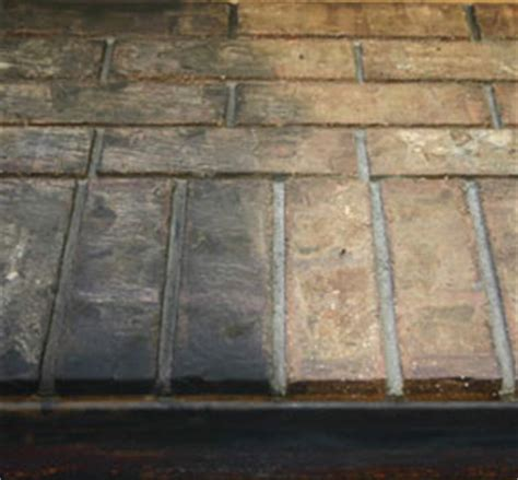 cleaning fireplace soot  brick  stone simply good tips