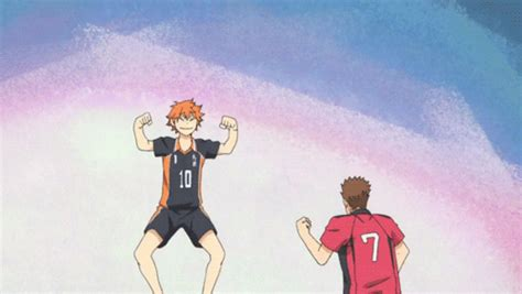 Find funny gifs, cute gifs, reaction gifs and more. small giant haikyuu   Tumblr