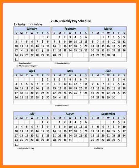 biweekly payroll calendar template samples paystubs
